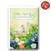 Faltkarte - 85. Geburtstag