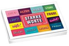 Starke Worte - Postkartenset
