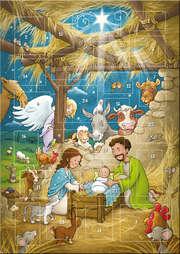 Der magnetische Adventskalender - Weihnachtsfreude in Bethlehem