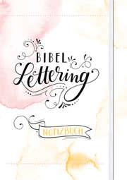 Bibel-Lettering Notizbuch