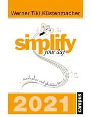 Simplify your day 2021 - Abreißkalender