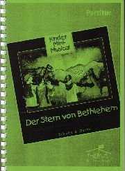 Partiturausgabe: Der Stern von Bethlehem