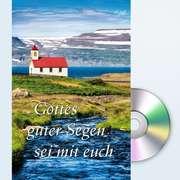 Gottes guter Segen sei mit euch - Faltkarte mit CD