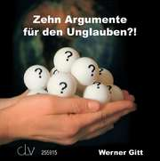 Hörbuch: Zehn Argumente für den Unglauben?!