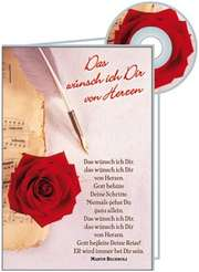 Das wünsche ich dir - CD-Card - Geburtstag