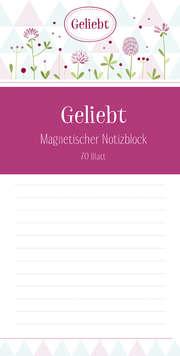 Geliebt - Magnetischer Notizblock